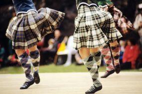 Škotska v plesu