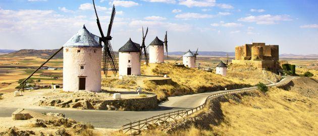 Španija-Consuegra, mlini