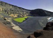 Spanija-Lanzarote -zelena laguna