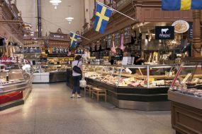 Švedska-Stockholm-tržnica