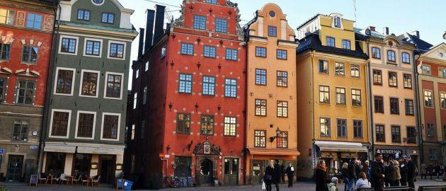 Švedska-Stokholm-Gamla Stan