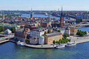 Švedska-Stokholm-mesto
