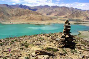 Tadjikistan-Karakul, črno jezero