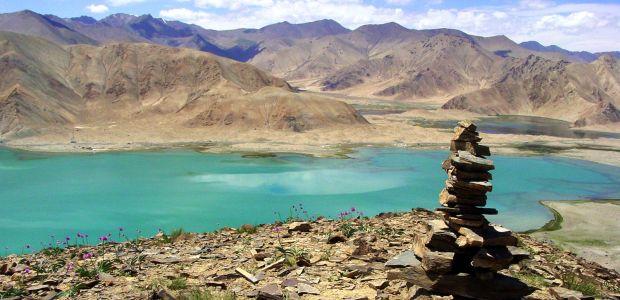 Tadžikistan-Karakul in Črno jezero
