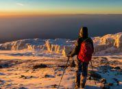Tanzanija-Kilimanjaro-pogled z vrha