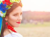 Ukrajina-dekle