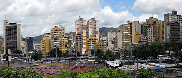 Venezuela-Caracas-Panorama