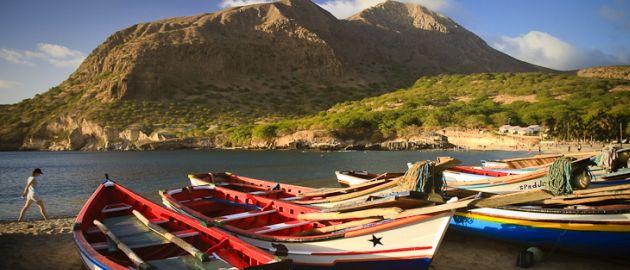Zelenortski otoki- pisani čolni