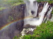 Zimbabve – Viktorijini slapovi, mavrica