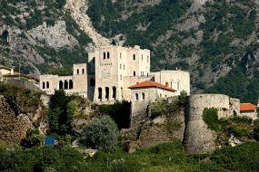 Albanija-Kruje, trdnjava