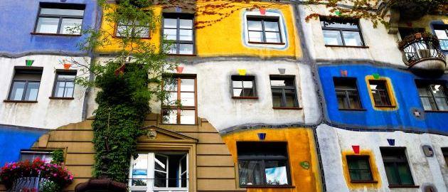 Avstrija - Dunaj, Hundertwasserjeva hiša