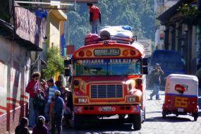Gvatemala-avtobus