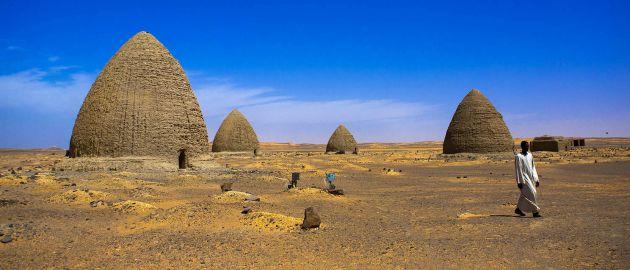 Old Dongola, Sudan - piramide
