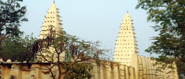 Burkina Faso in Gana-Mošeja