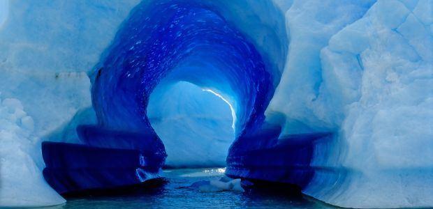 Čile-Ledeni tunel