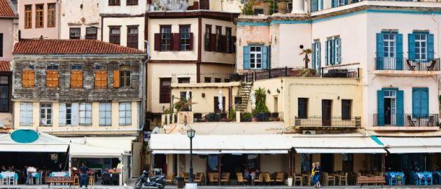 Grčija-Kreta, hiše