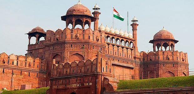 Indija-Delhi-Rdeča trdnjava
