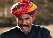 Indija-Moški z Rajastana