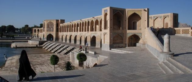 Iran-Esfehan, kjer mostovi dajejo mestu poseben čar