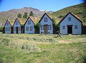 Islandija-hiške