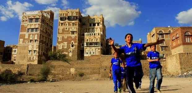 Jemen-Pravljična Sana