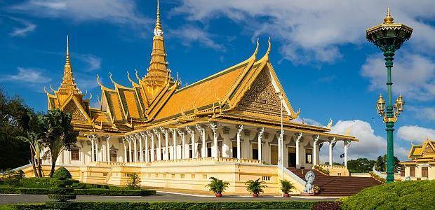 Kambodža- Palača