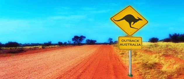 Avstralia - znak kenguru