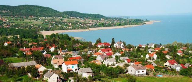Bladno jezero na Madžarskem
