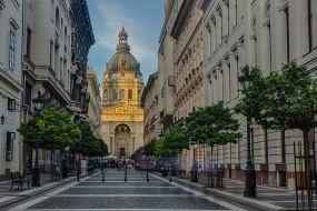Madžarska-Budimpešta, ulica
