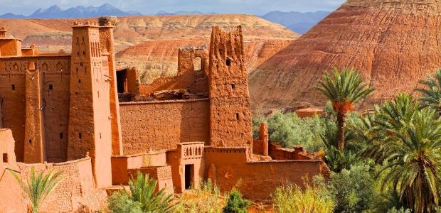 Maroko-Kasba-Ait ben Haddou