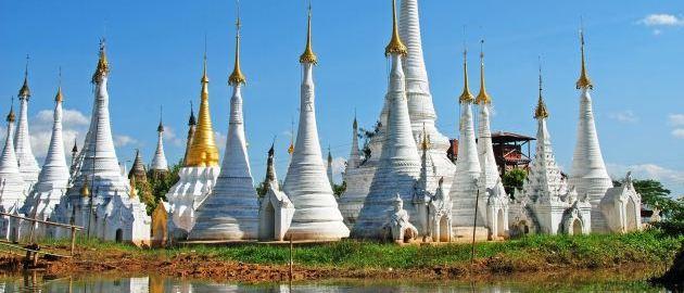 Myanmar-Burma-v deželi smejočih ljudi