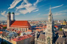 Nemčija - Munchen, panorama