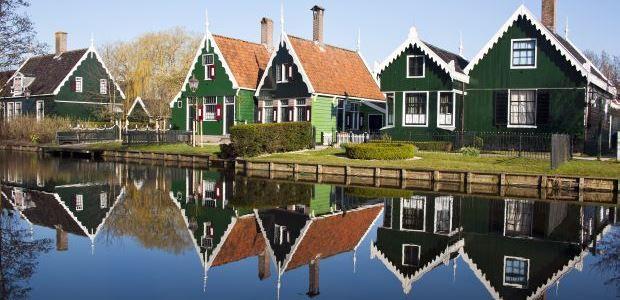 Nizozemska-Hiše