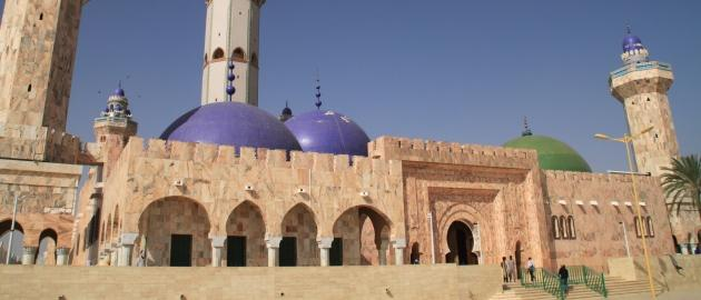 Senegal-Mošeja
