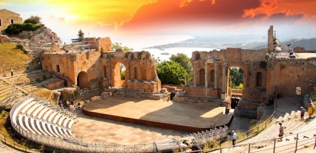 Sicilija-Antično gledališče