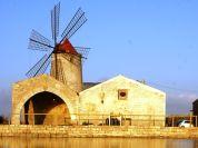 Sicilija-Veterni mlin-Soline blizu Trapanija