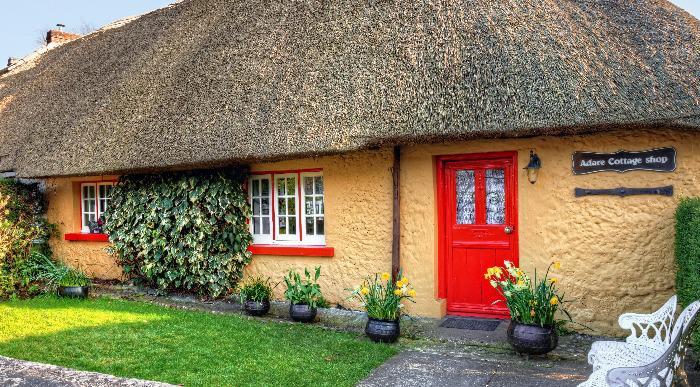 8-Irska-Adare-tradicionalna hiša