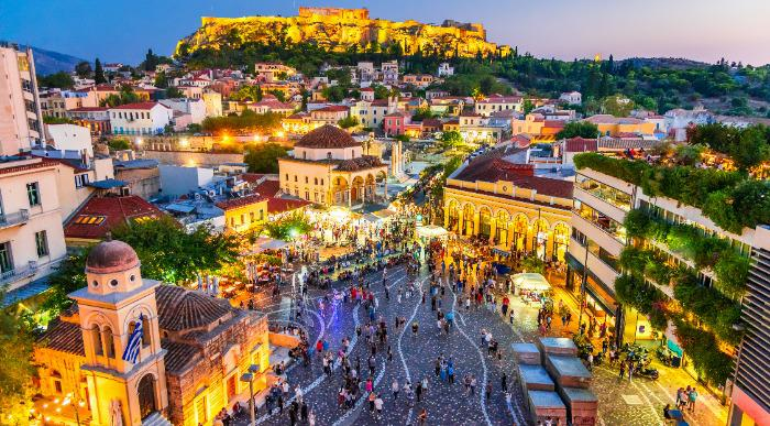 Athens shutterstock_1193397715