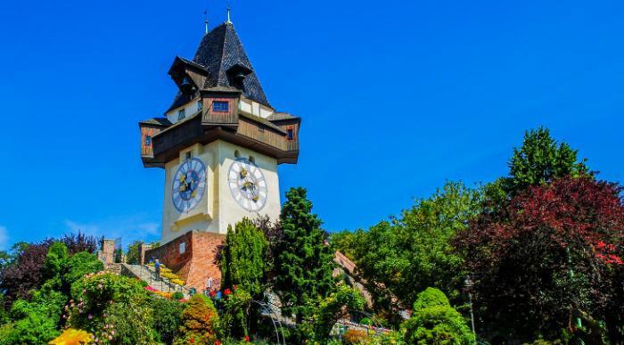 Avstrija Gradec urni stolp ss_238824091