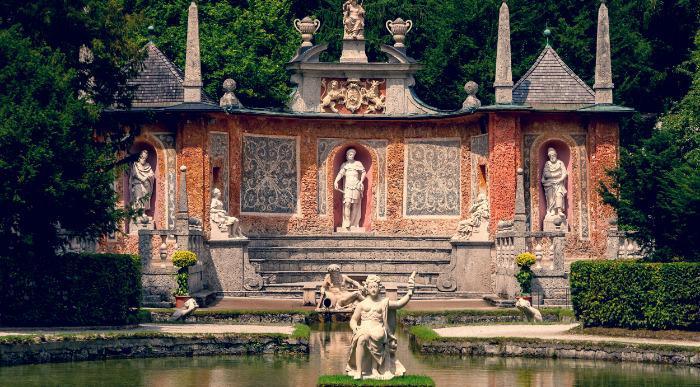 Avstrija, Salzburg in vodne igre