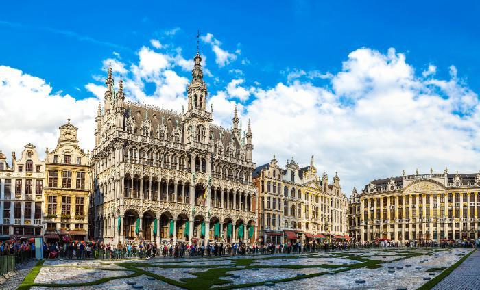 Belgija - Bruselj trg
