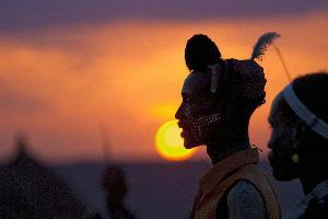 Etiopija-Jinka-pleme Hamar-ban