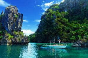 Filipini-El Nido območje