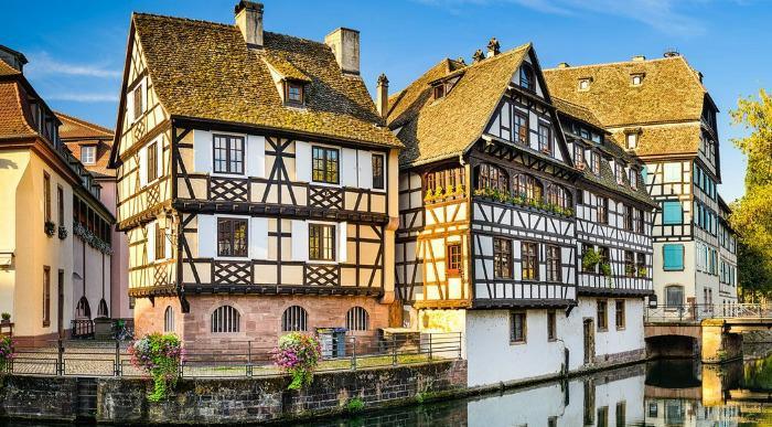 Francija- mesto Strasbourg