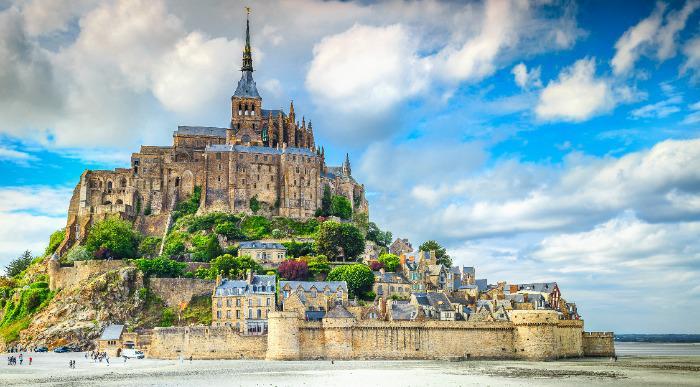 Francija - Mont St. Michel