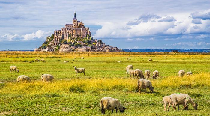 Francija Mont St Michel ss_367651742