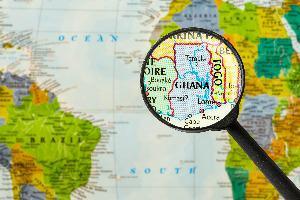 Gana-zemljevid