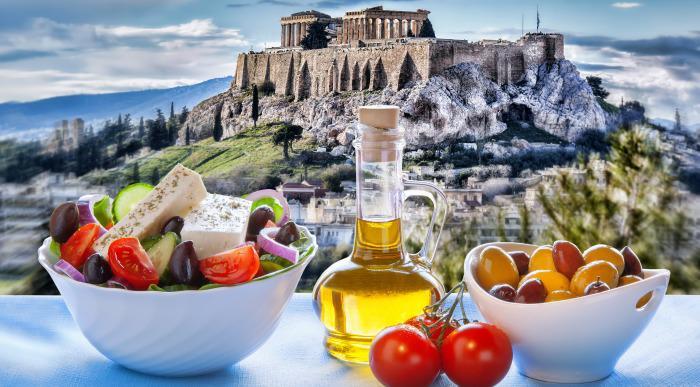 Grčija-Atene-grška solata