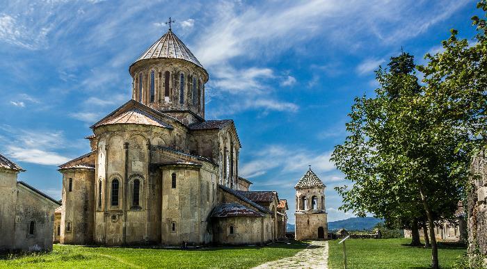 Gruzija-samostan Gelati