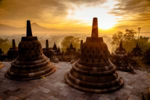 Indonezija-Java, tempelj Borobudur (Unesco)